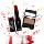 Absolute New York Matte Stick Lipstick Dark Red + Eye Artiste Dulce Brown