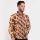 Arjuna Weda Kemeja Batik Pisang Bali Cokelat