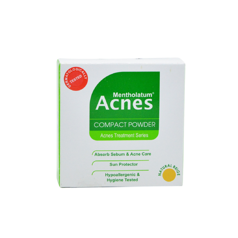 Acnes Compact Powder Natural Beige 14G