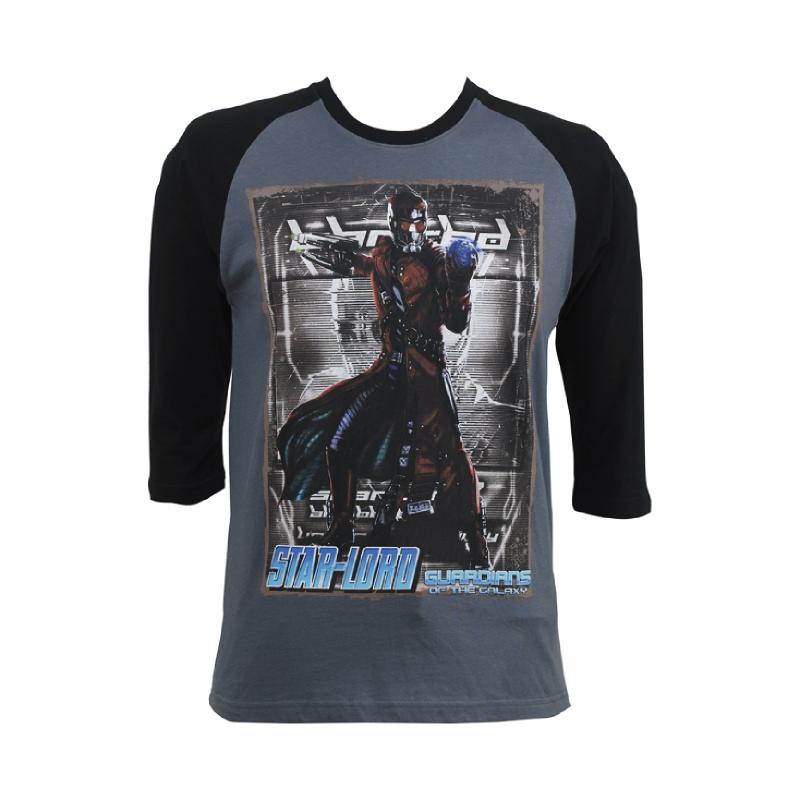 H&R Guardian of Galaxy T-Shirt 3-4 Sleeve Grey