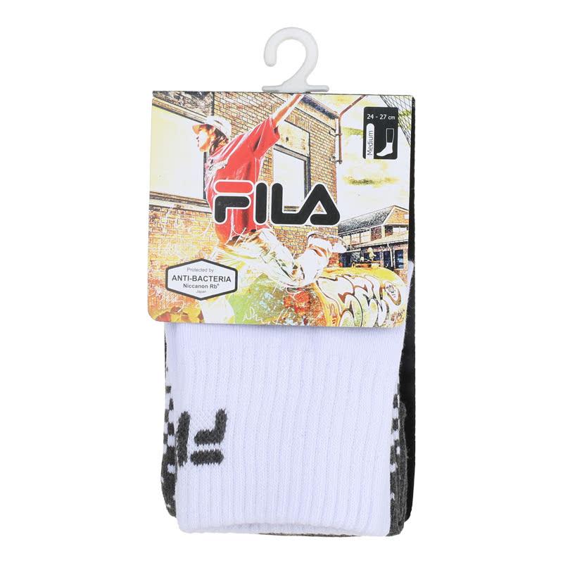 Fila Quarter Socks Quarter Socks - Giofreda White