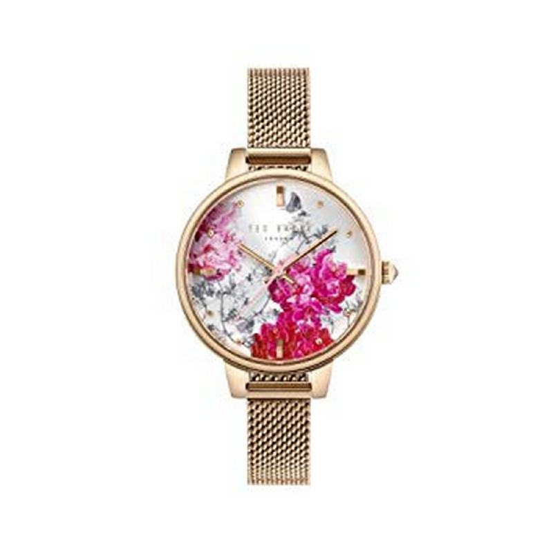 Ted Baker TE50070011 Women Watch Stainless Steel Rosegold