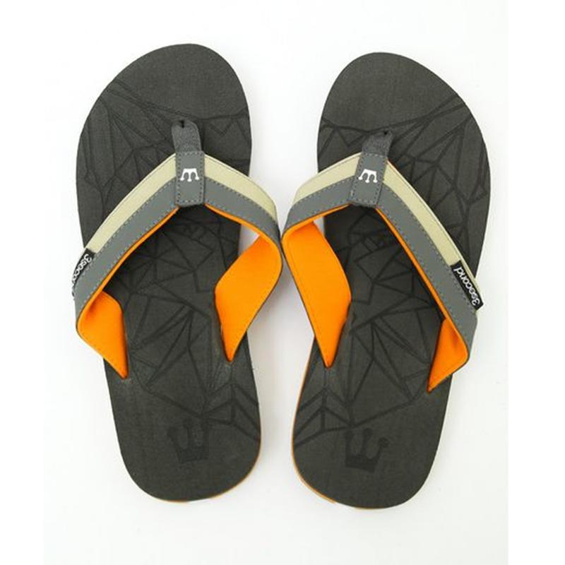 3Second Men Sandals 1405 Grey