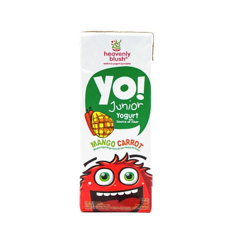 Heavenly Blush Yo Yogurt Mango Carrot Tp