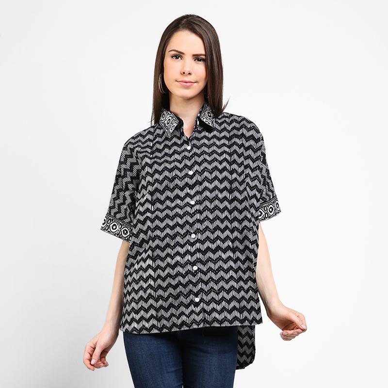 Astari Batik Kemeja Black