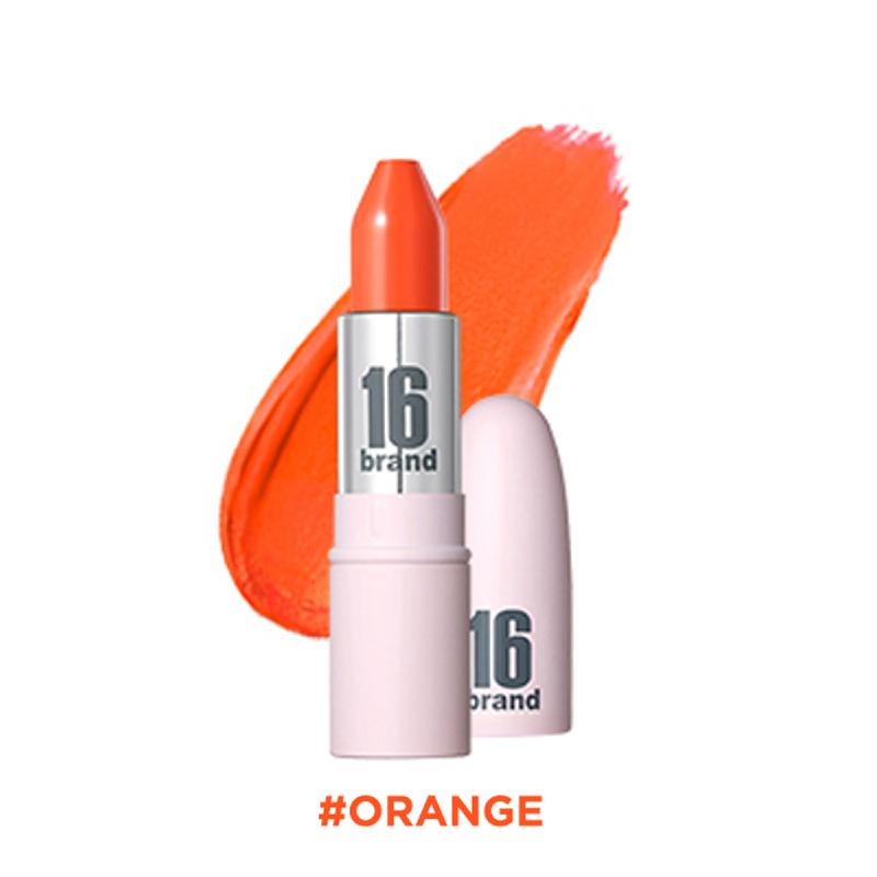 16brand RU Lipstick Matt - Orange