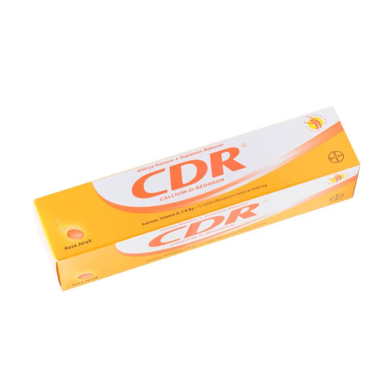 CDR Effervescent Orange 15s
