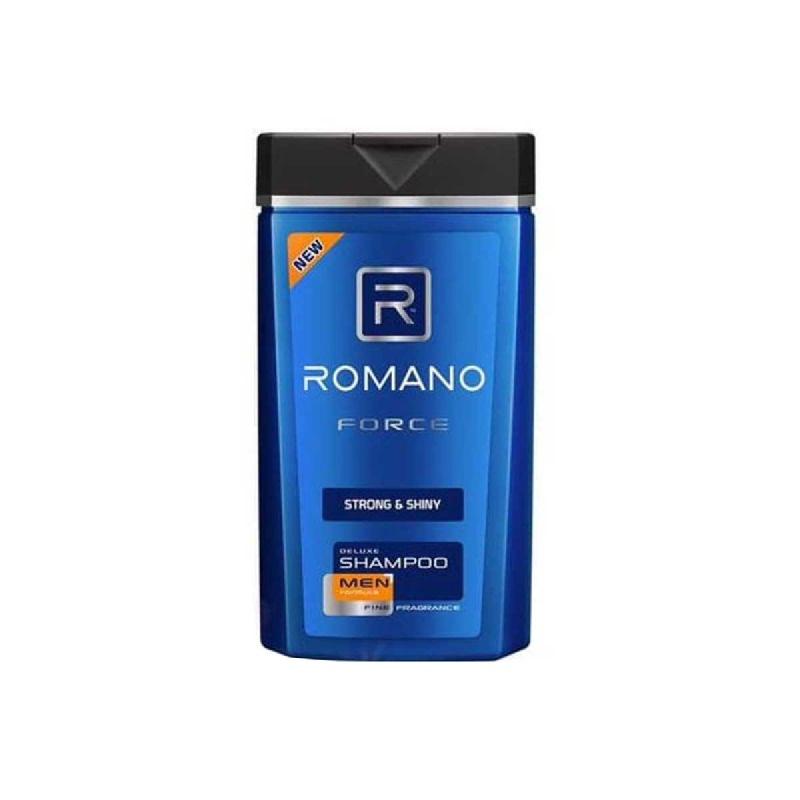 Romano Men Shampoo Force Strong & Shiny 170 Ml