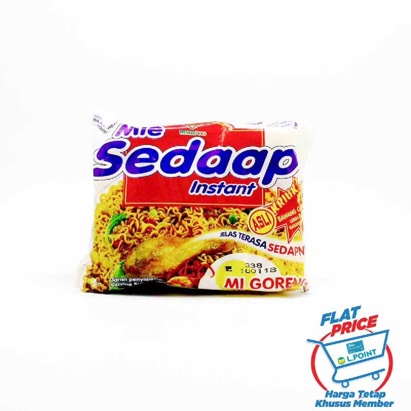 Mie Sedaap Mie Instan Goreng 91 Gr (Flat Price)
