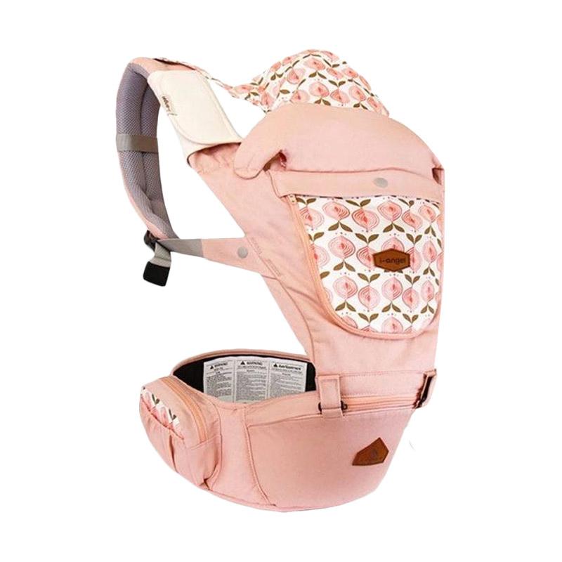 I-Angel Miracle Pastel Gendongan Bayi - Pink Pink