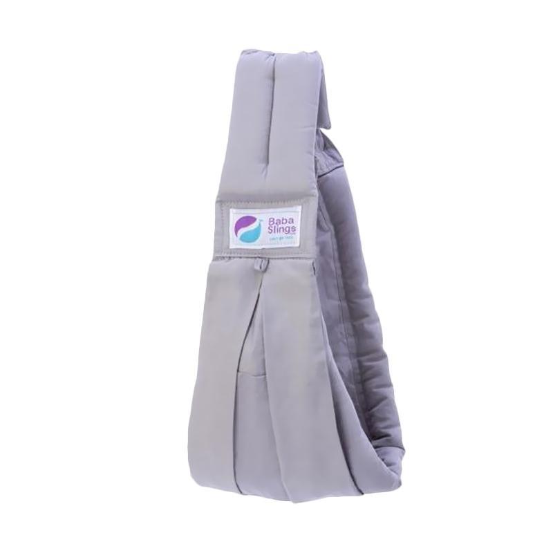 Baba Slings Standard Gendongan Bayi - Silver
