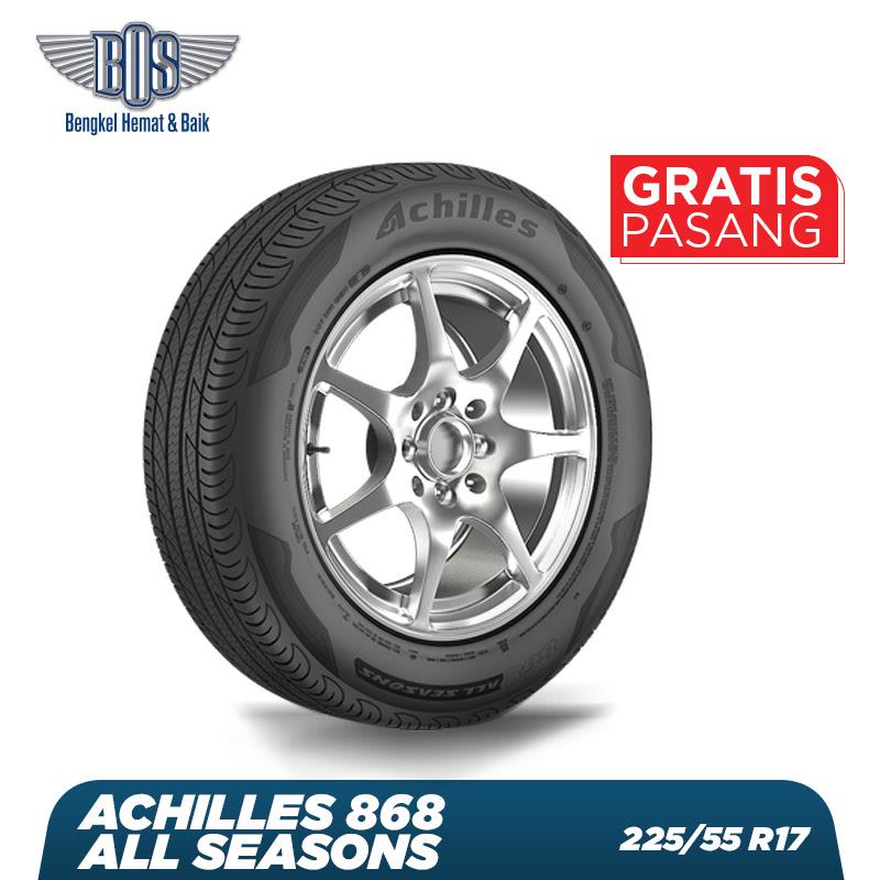 Achilles Ban Mobil  868 All Seasons - 225-55 R17 101V XL - GRATIS JASA PASANG DAN BALANCING