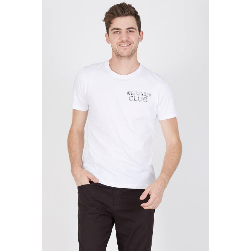 Men Weekender Club Tshirt White