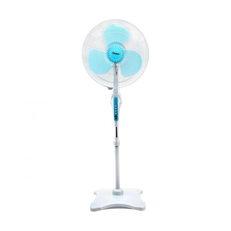 16 SNQ Kipas Angin Standing  - Biru [16 Inch]