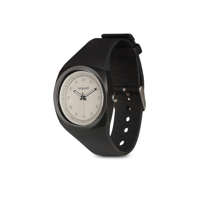Exsport Laula Color Analog Watch - Black