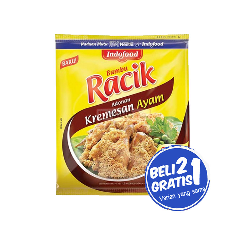 Indofood Racik Adonan Kremesan Ayam 70 Gr (Buy 2 Get 1)