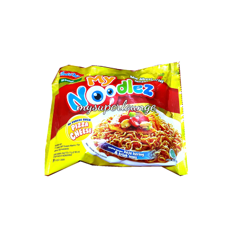 My Noodlez Pizza Cheese 71Gr