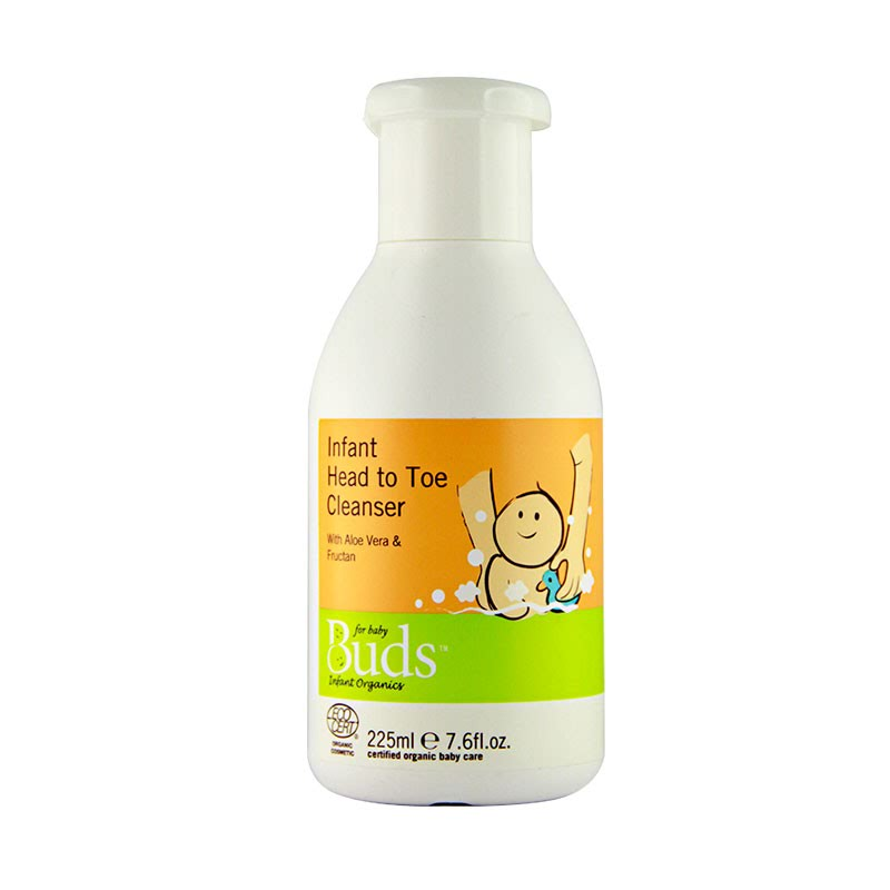 Buds Everyday Organics - Infant Head To Toe Cleanser 225ml
