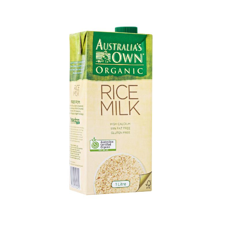 Aust Own Rice Milk 1 L