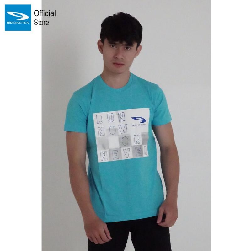 910 Nineten T-Shirt DD - Biru Muda