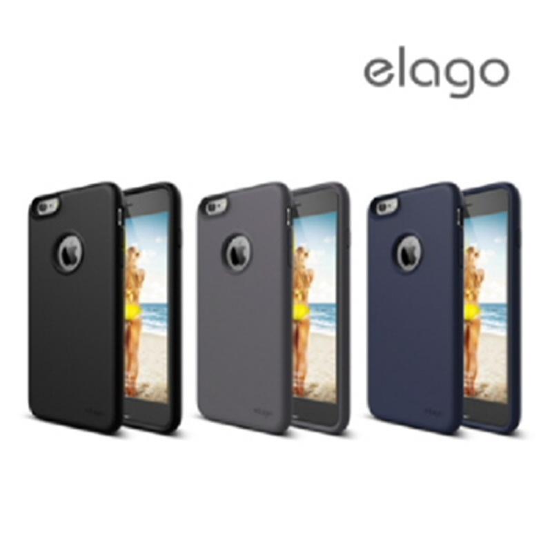 Elago Flex Case for iPhone 6 Plus, 6S Plus - Dark Gray (Matte)