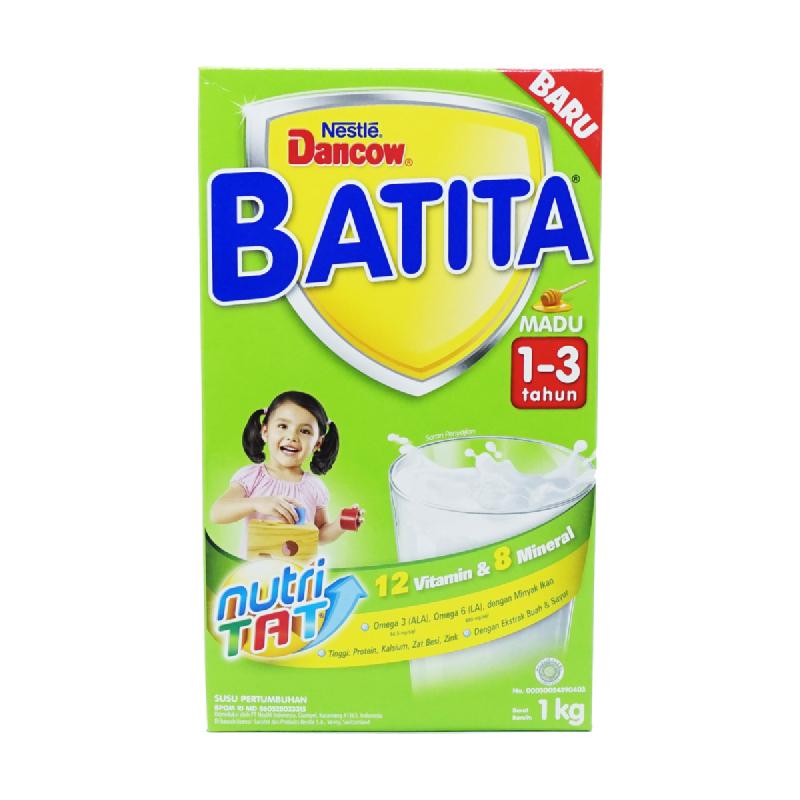 Dancow Susu Bubuk Batita 1-3 Madu Box 1000Gr