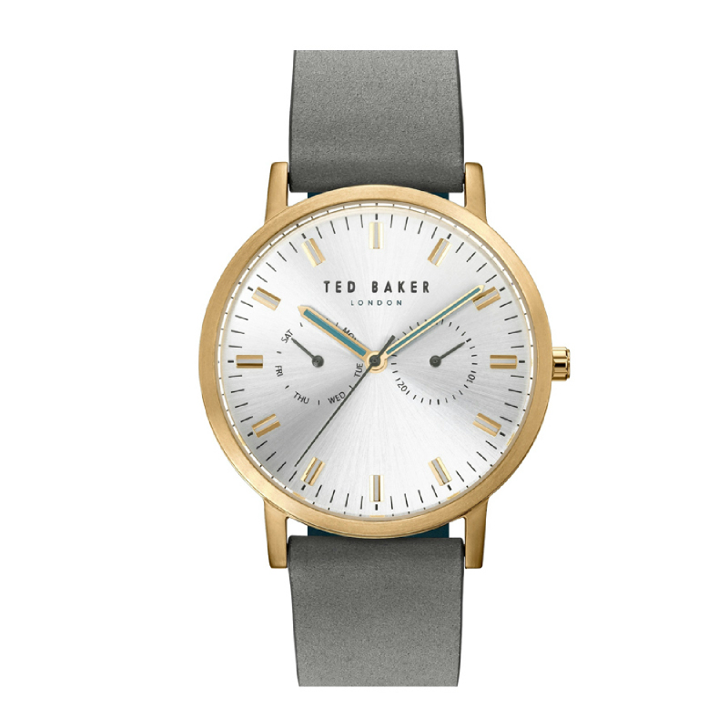 Ted Baker TE50274013 Men Watch Leather Strap Grey