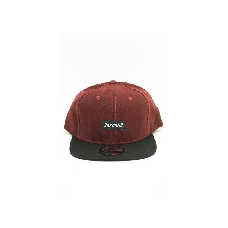 3Second Men Hat 0405 Red