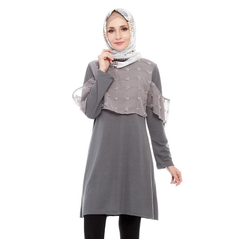 Mybamus Kaynia Tunic Gray M13278 R39S3