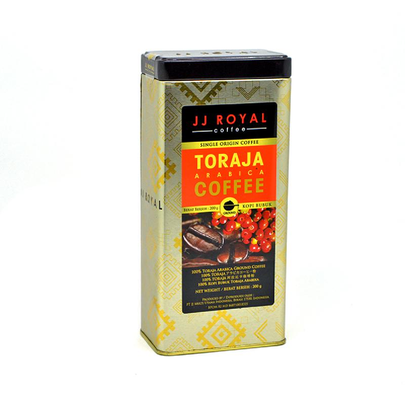 Jj Royal Cof Arabica Groun 200 Gr