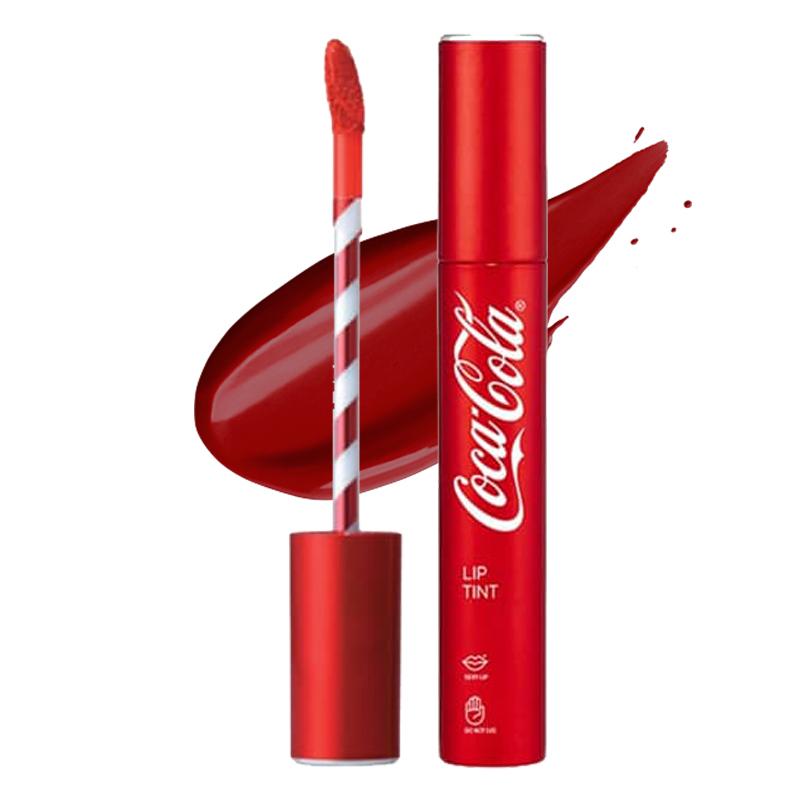 The Face Shop Coca Cola Lip Tint 05 Coke Red