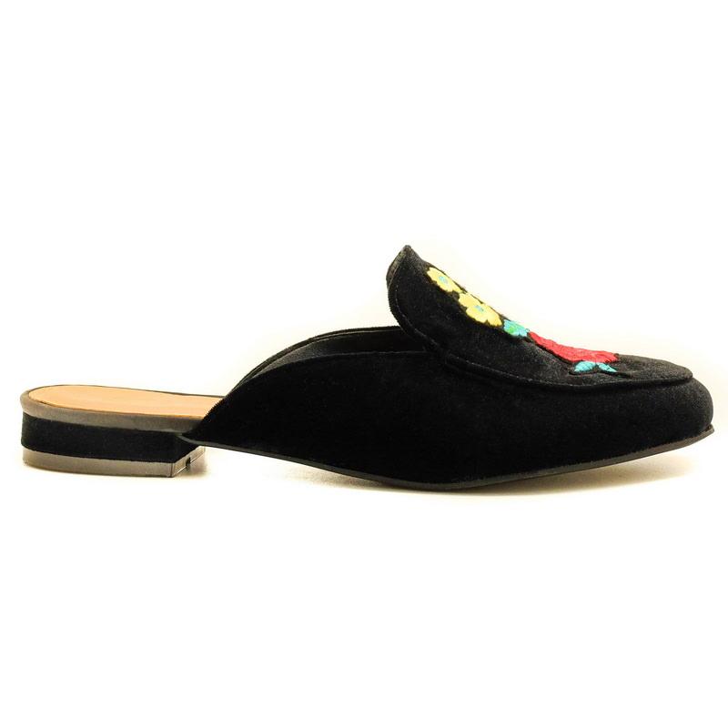 Apple Green Marseille Sandals Black