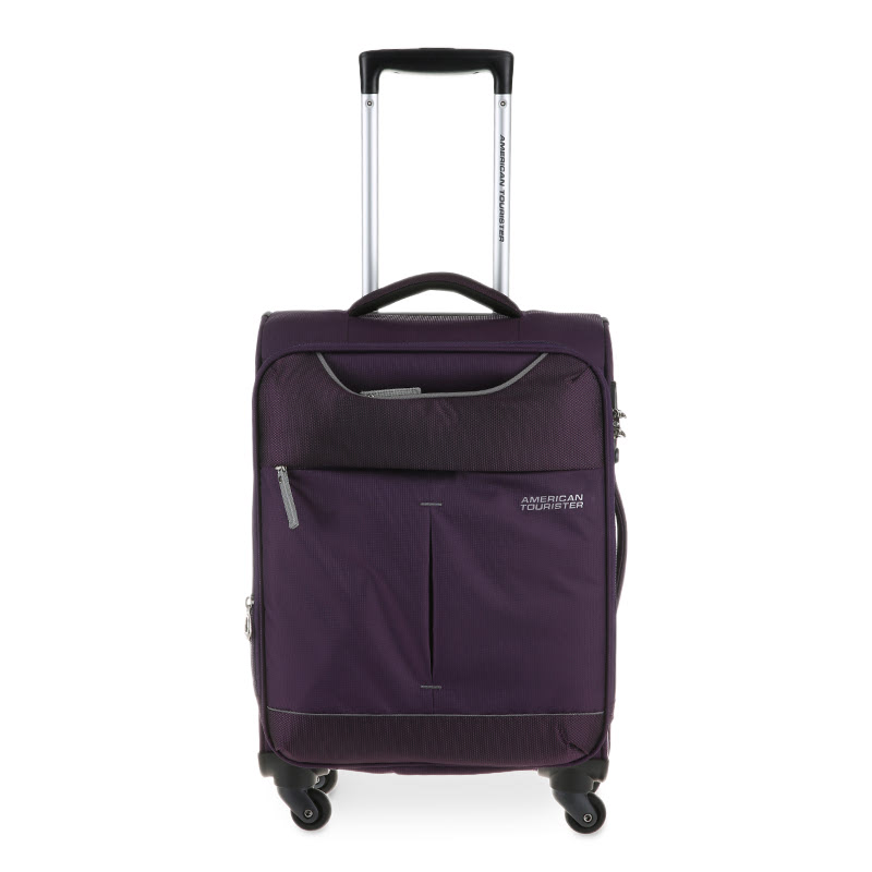 American Tourister Sky Spinner 55-20 Tsa 25R081001 Purple-Grey