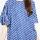 Astari Batik Dress Tangan Rumbai Blue