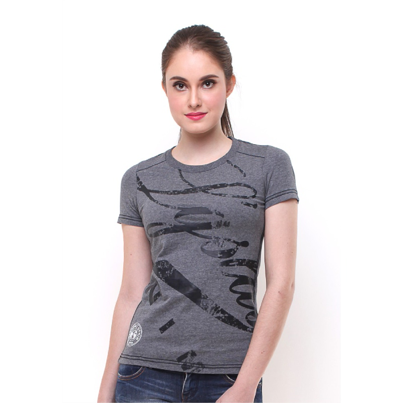 Slim Fit Grey T-shirt