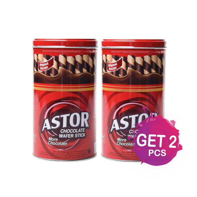 Astor Double Chocolate 330 Gr (Get 2)
