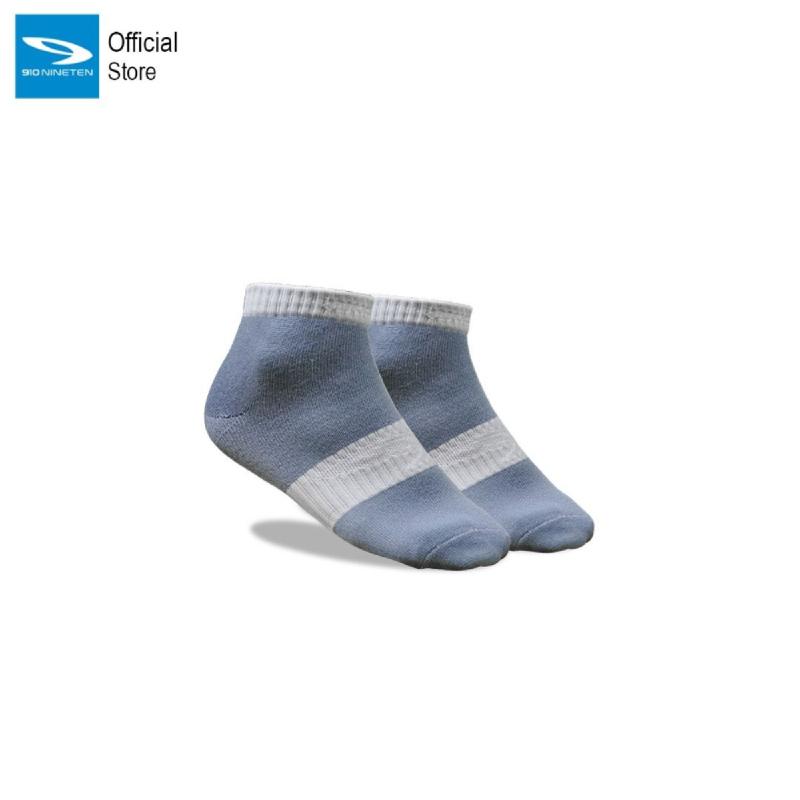 910 Nineten Saga Kaos Kaki Pendek Socks Ankle Abu