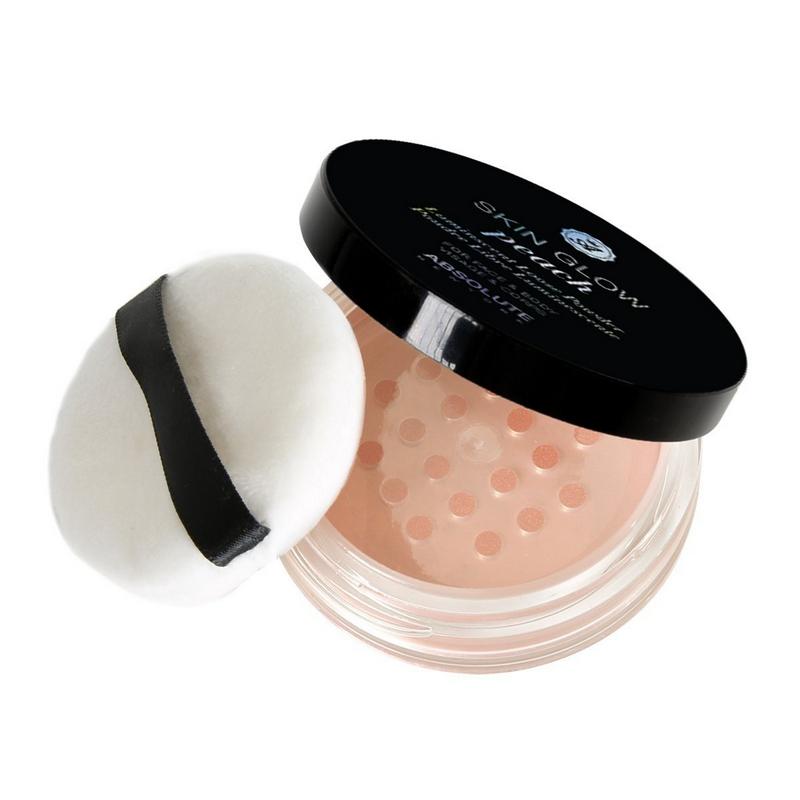 Absolute New York Skin Glow Luminescent Loose Powder Peach