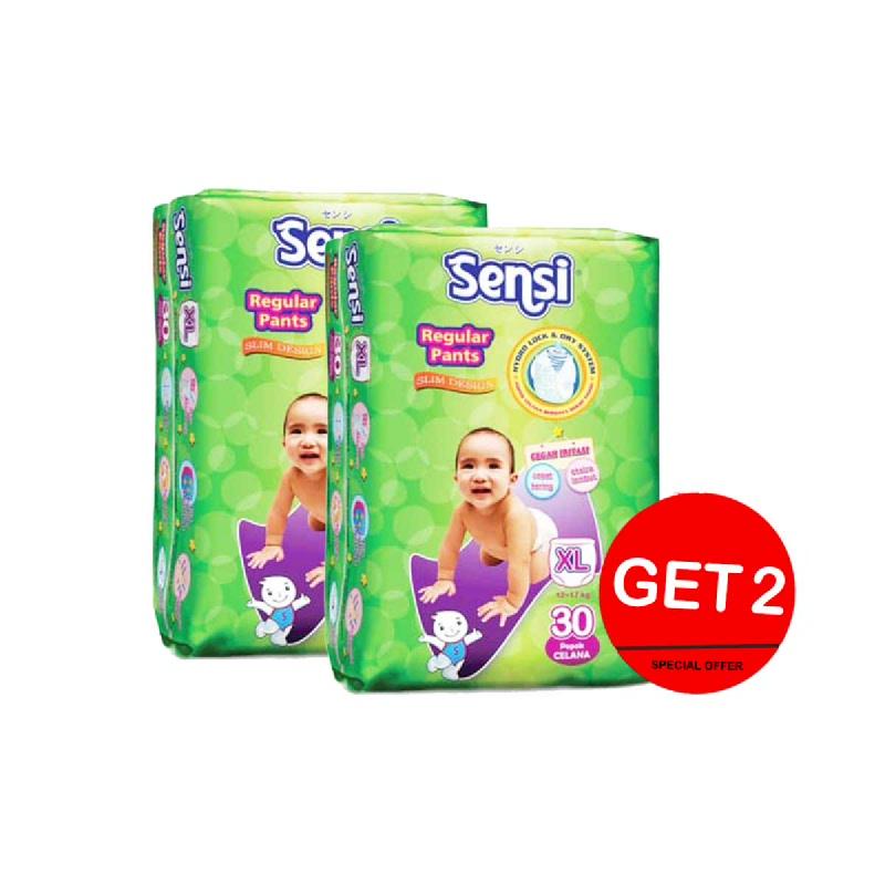 Sensi Dry Diaper Pants Size Xl 30S (Get 2)