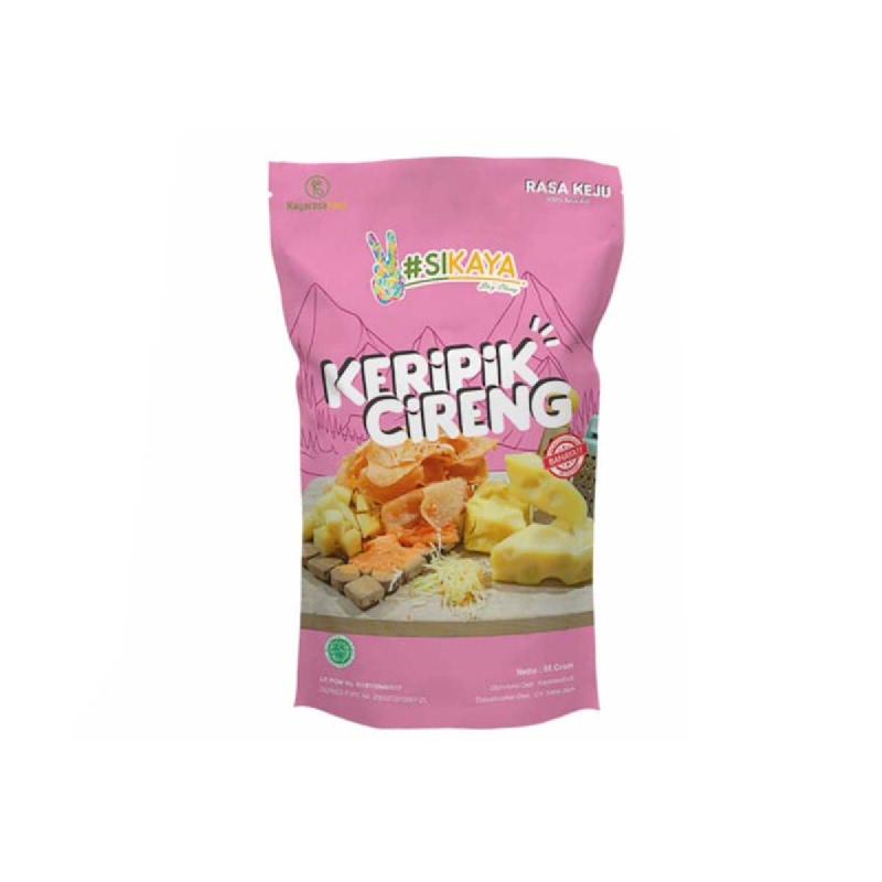 Sikaya Keripik Cireng Cheese 55 Gr
