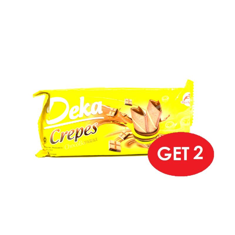 Deka Crepes Choco Banana 110 Gr (Get 2)