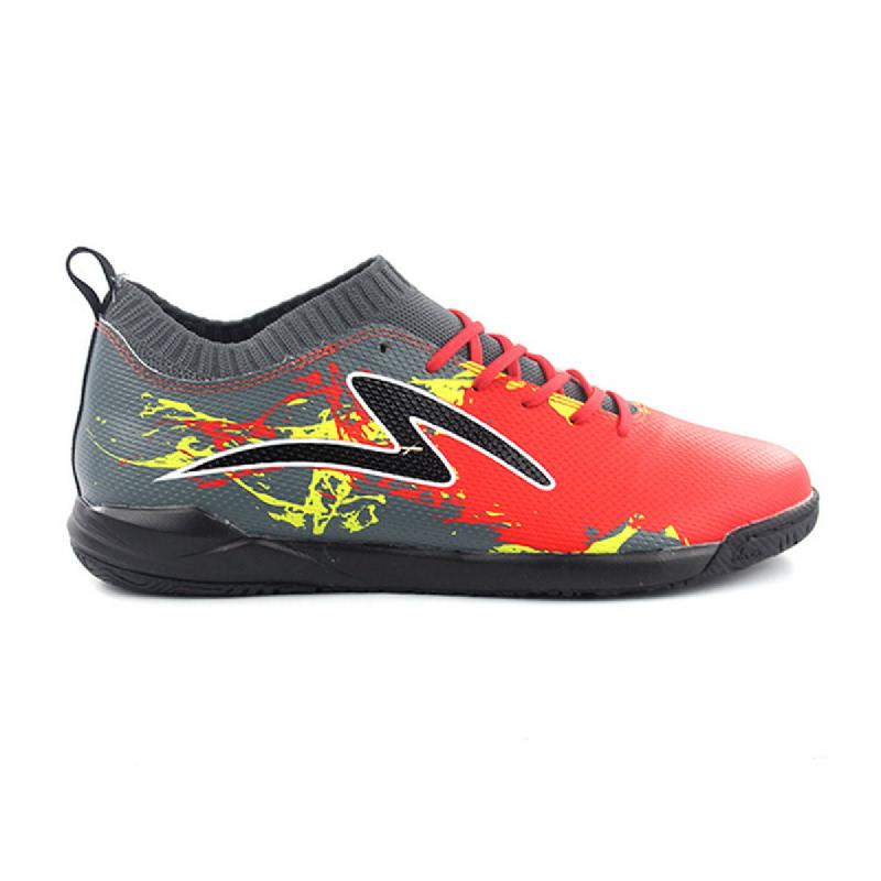 SPECS Futsal Pairs Cyanide TNT Red Dark Cool Grey