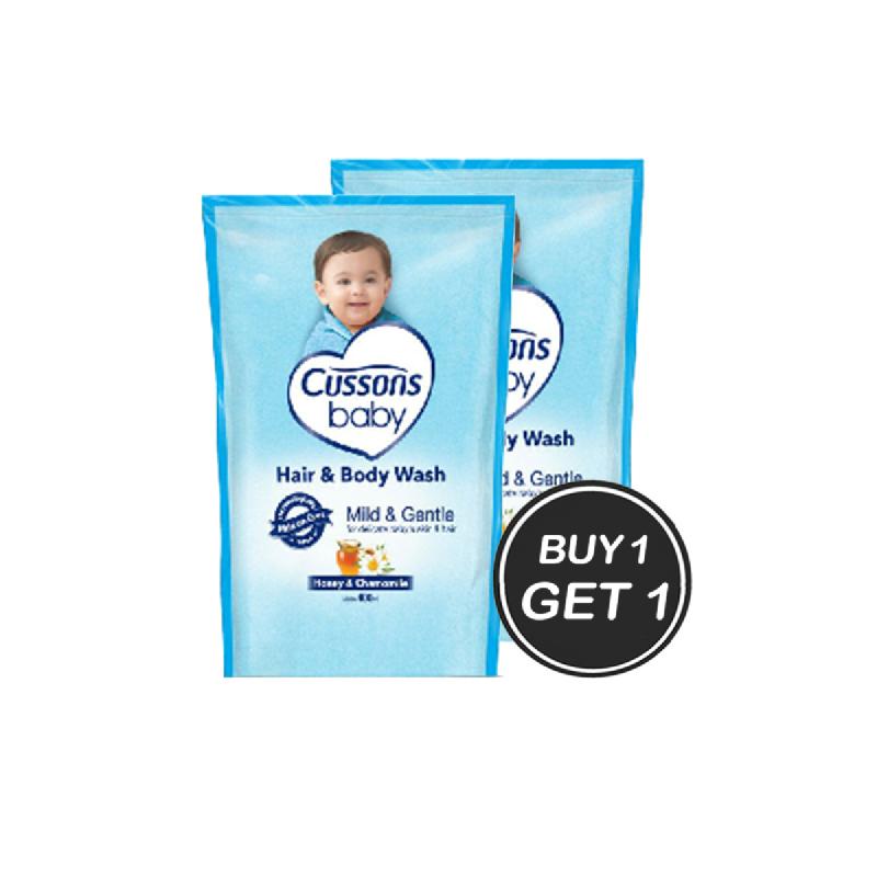 Cussons Hair & Body Wash Newborn Reffil 400 Ml (Buy 1 Get 1)