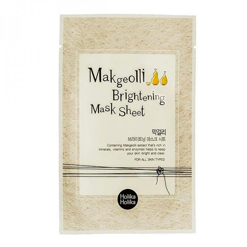 Holika Holika Brightening Mask Sheet Makgeolli 20ml