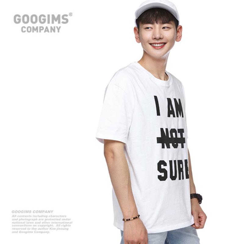 0143_I AM short sleeve t-shirt (G16MMRT603) White