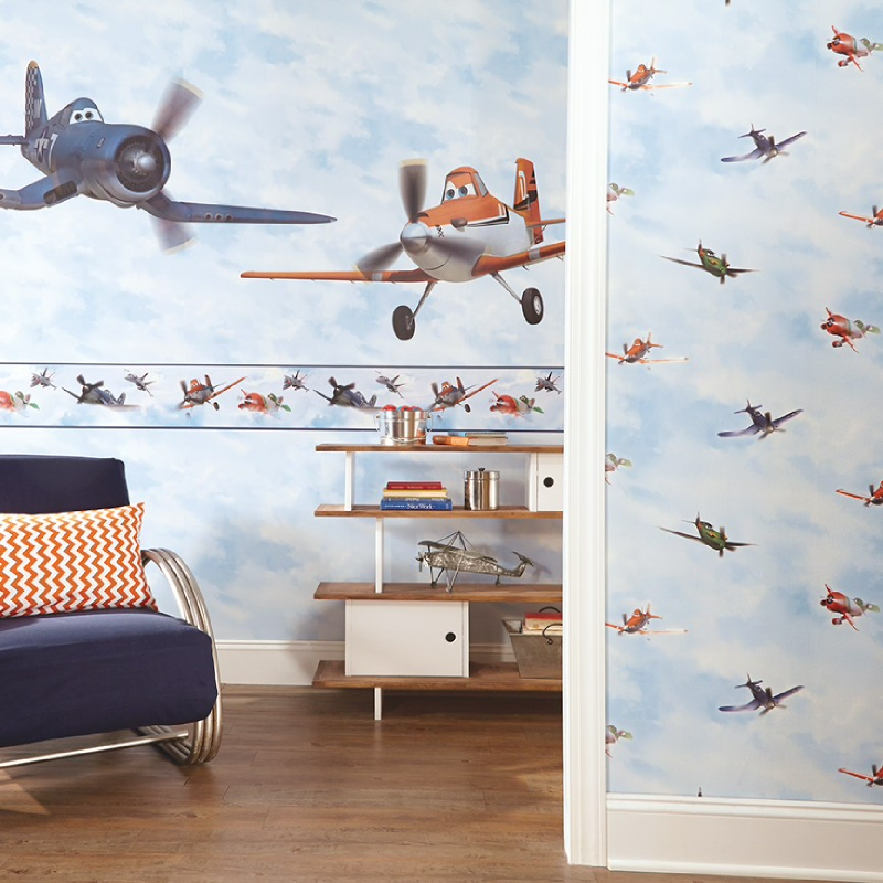 Planes In The Cloud Sidewall