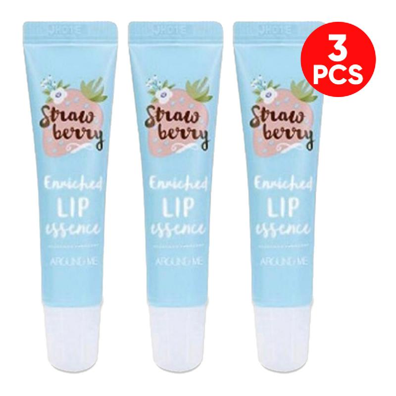 Around Me Enriched Lip Essence Strawberry 8,7 gr 3pcs