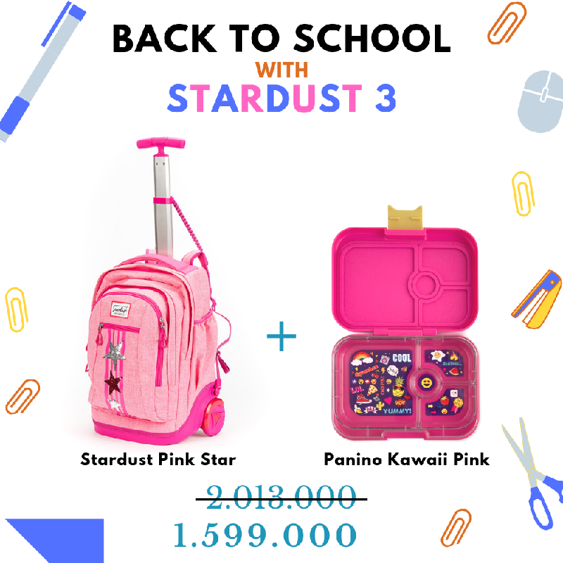Back to School with Stardust Pink Star