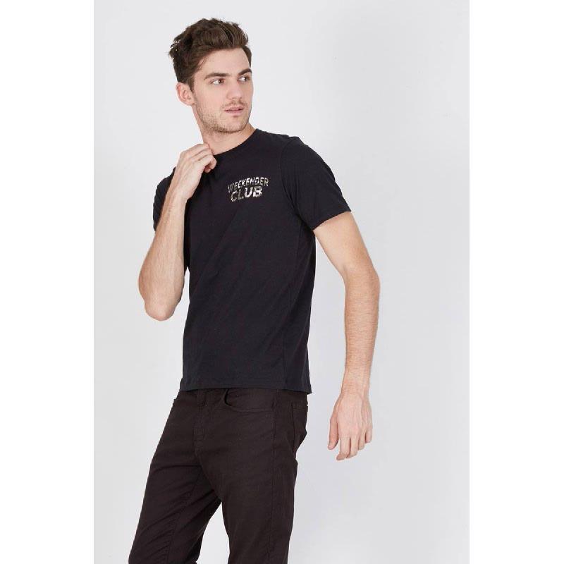 Men Weekender Club Tshirt Black