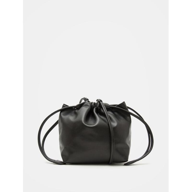 8 seconds Women Black Faux Leather Mini Bag